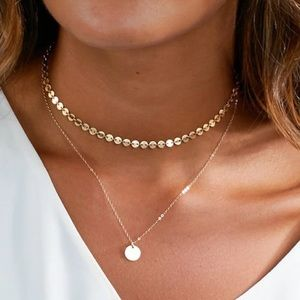 Jewelry - Dainty Gold Layered Necklace